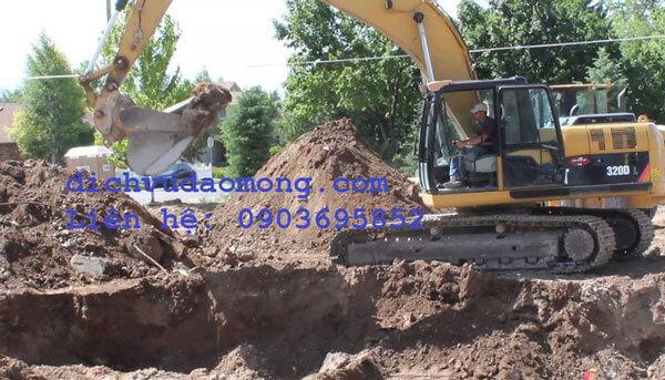 Chuyên đào móng nhà tại TPHCM