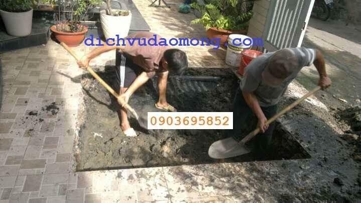 đào hầm cầu tại tphcm