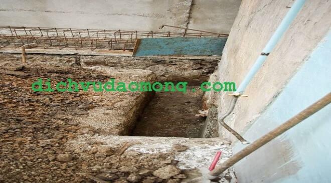 Nhận đào móng nhà uy tín tại tphcm