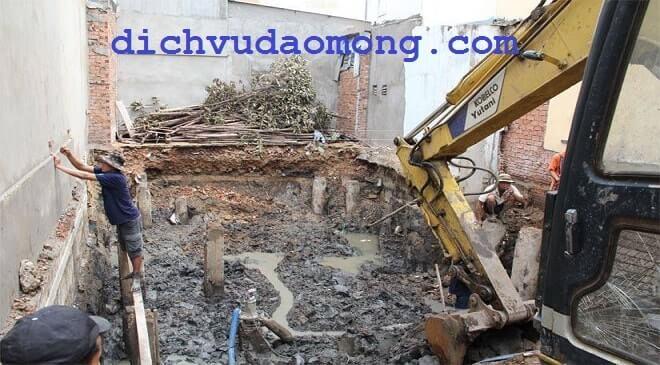 đào móng nhà tại gò vấp