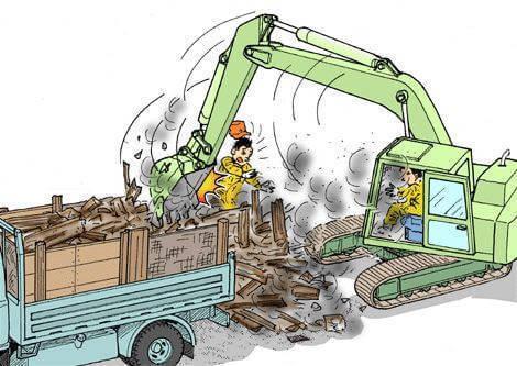 truyện cười xây dựng dịch vụ đào móng nhà